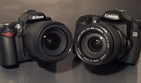 canon vs nikon aparat foto dslr