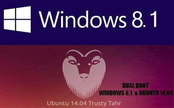 dualboot windows 8.1 si ubuntu 14.04