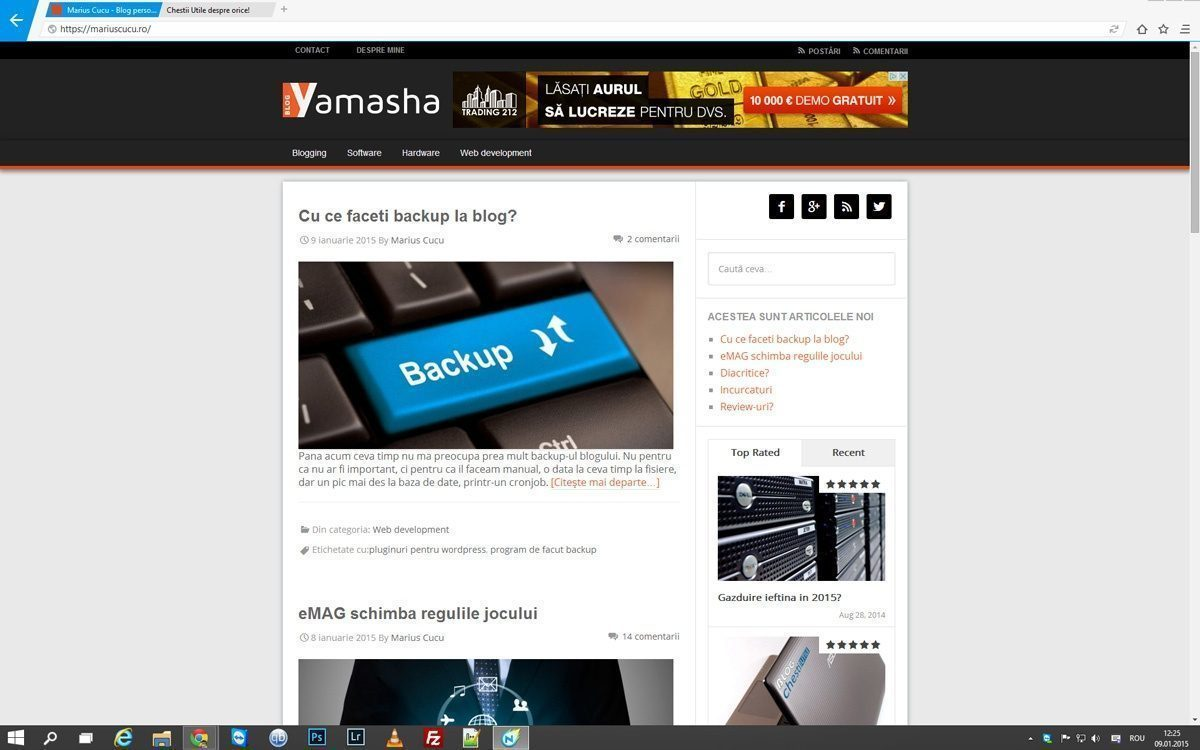 browser minimalist in 2015