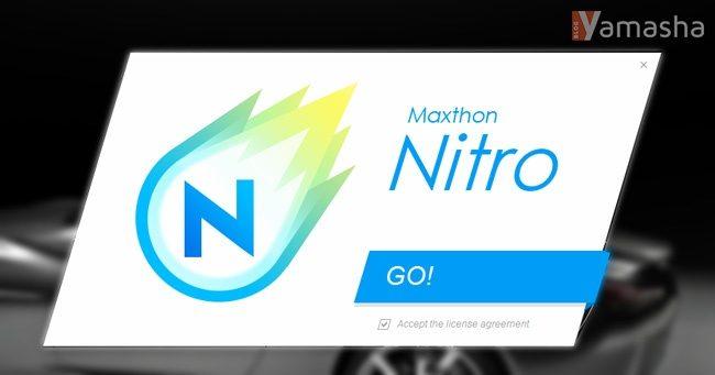 instalare browser nitro