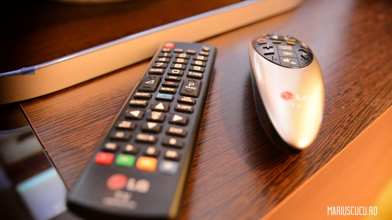 telecomandă televizor