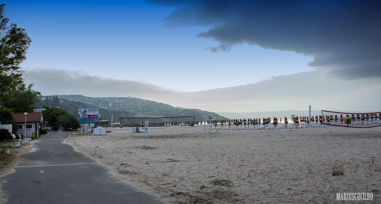cum e plaja in Albena din Bulgaria