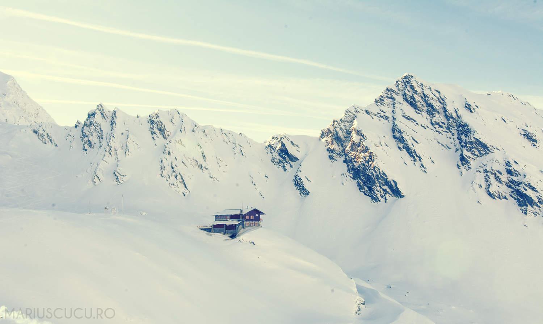 Am văzut Transfăgărășanul și hotelul înghețat de la Bâlea Lac