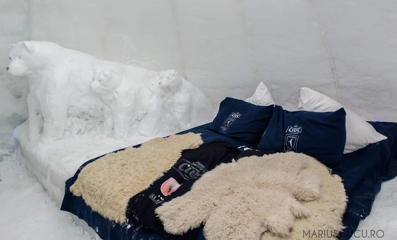 pat matrimonial transfăgărăsan hotelul de gheață