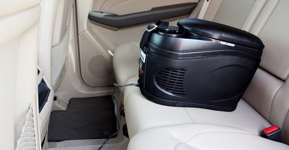 Mini frigider pentru mașină?