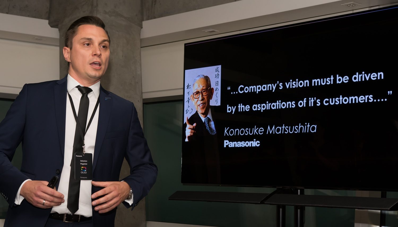 Am fost la prezentarea Panasonic, din Varșovia, pentru noul televizor OLED