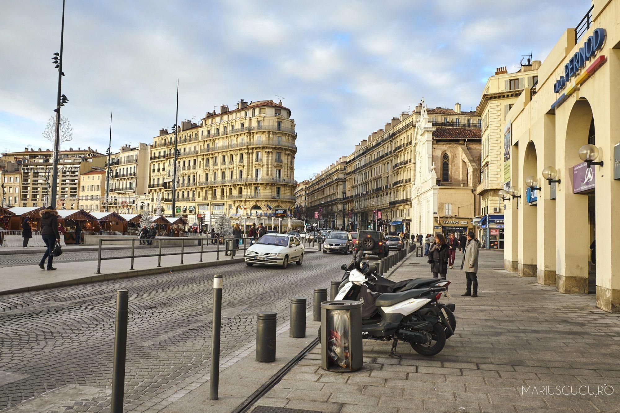 Am mers în Marseille. Am găsit o priveliște extraordinară acolo
