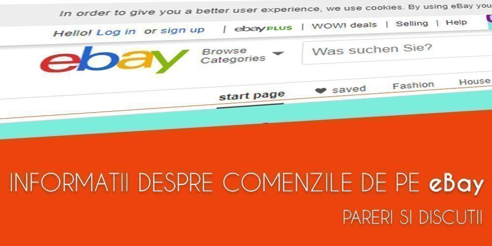 comenzi ebay