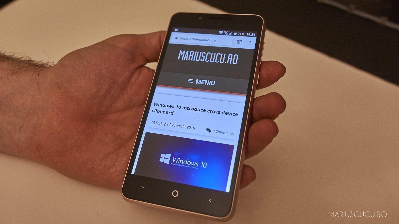 Leagoo KIICAA Power, un telefon foarte ieftin și decent