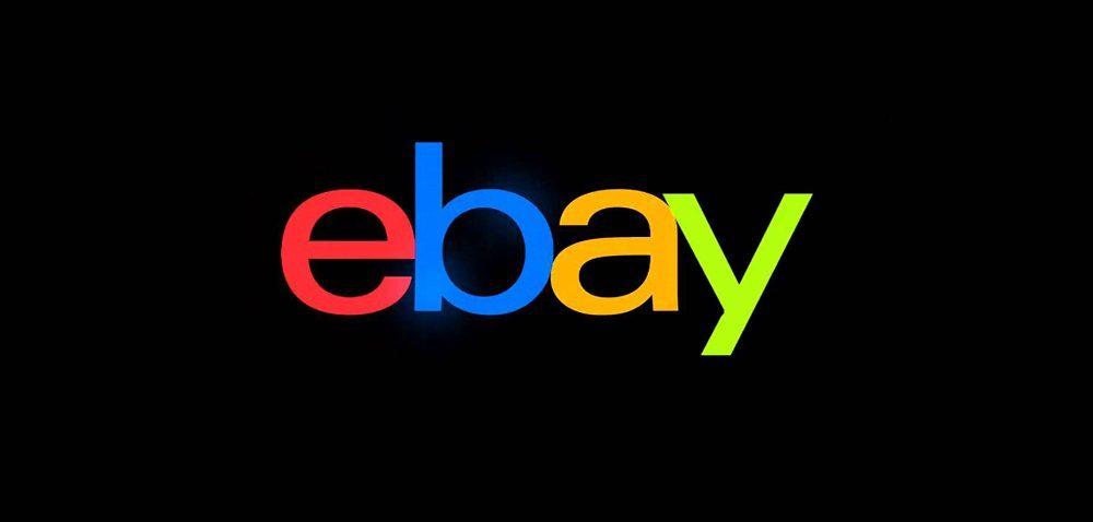 ebay logo negru