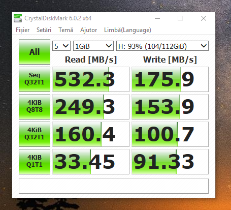 SSD Intel 520 benchmark