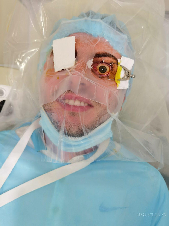 care a revenit la vedere fără operație strică ochii