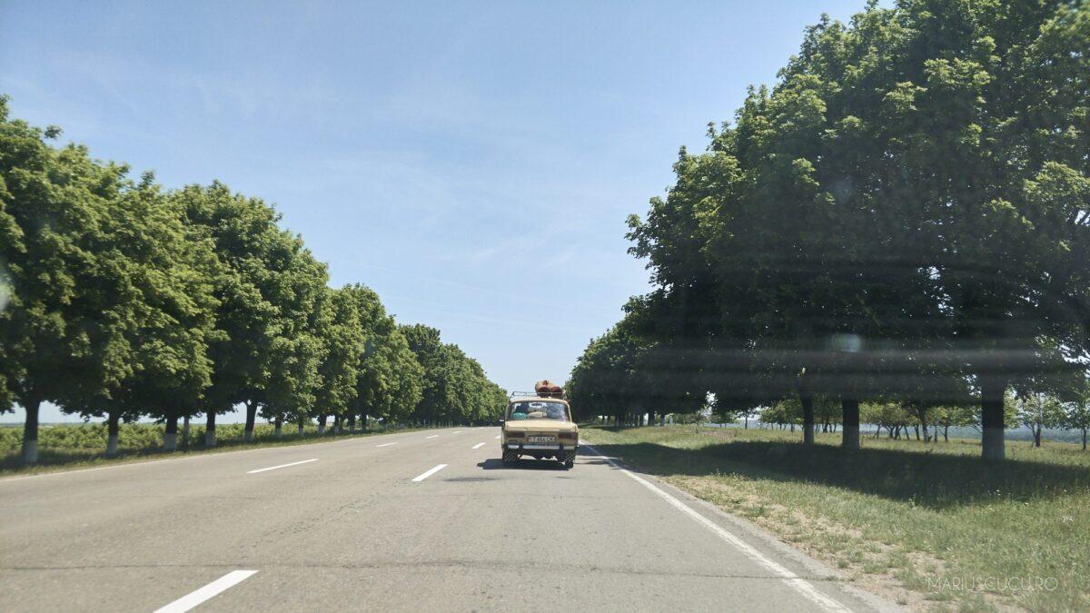 drum asfaltat spre tiraspol
