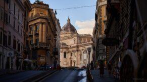 cladire strada apus roma