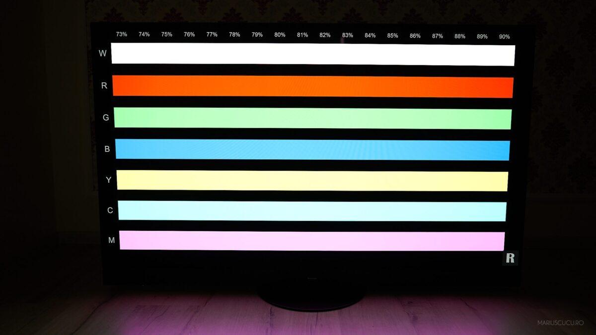 culori panasonic tv