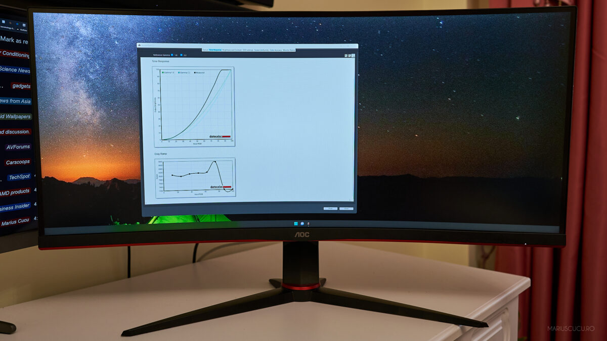 monitor aoc fata display
