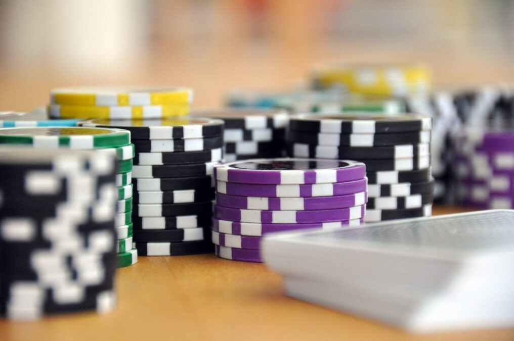 play card game poker poker chips 39856