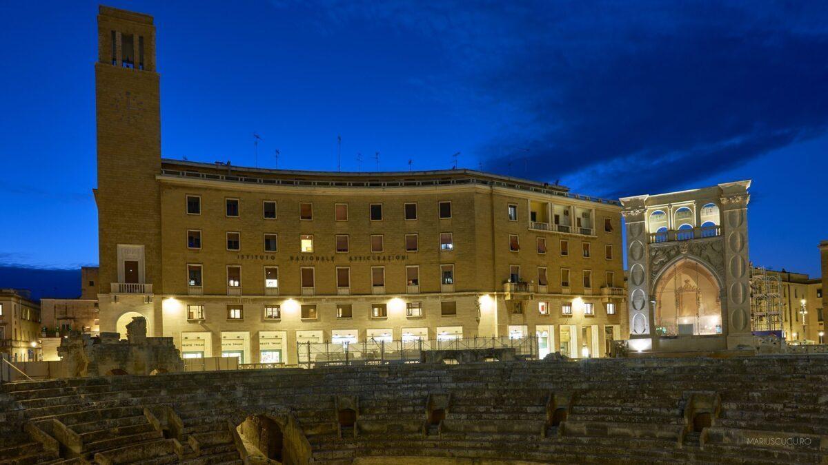 amfiteatru lecce centru vechi