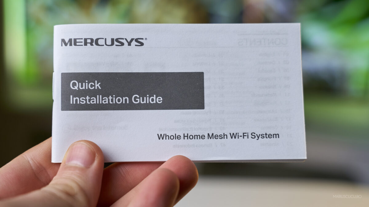 manuale mercusys router