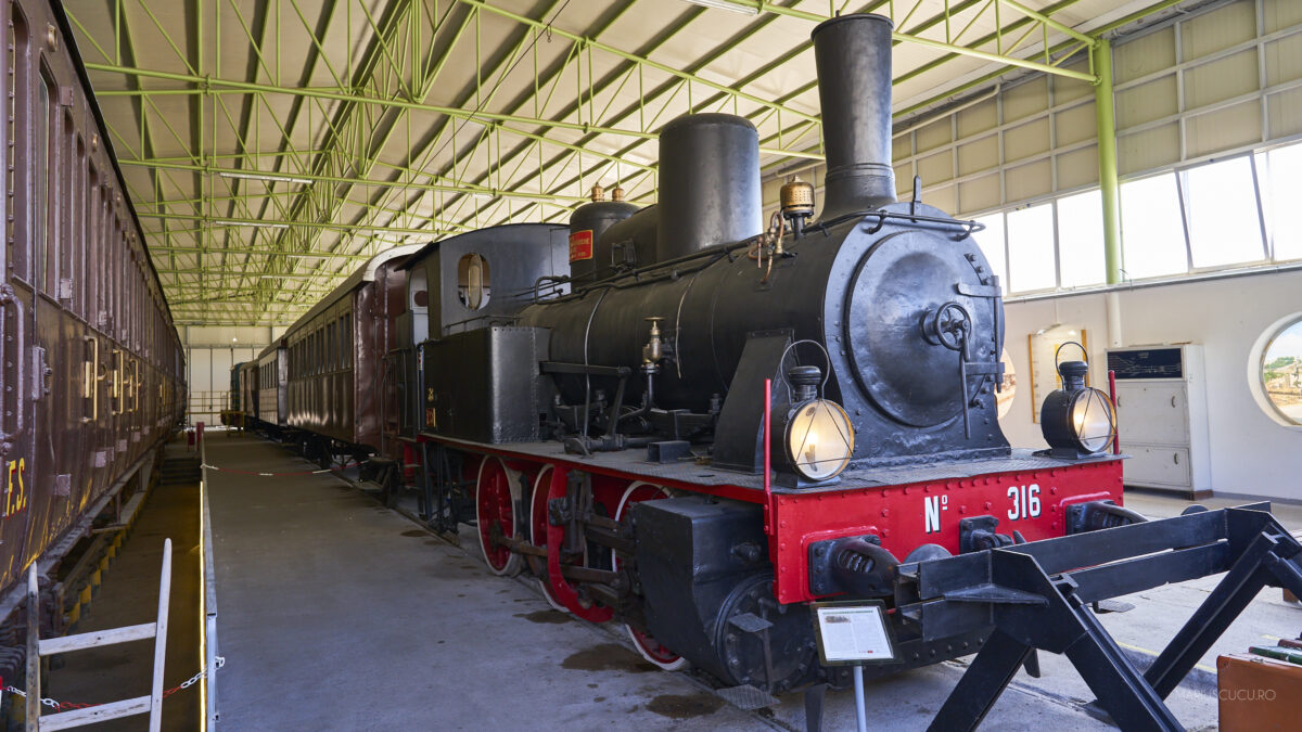 muzeul trenurilor lecce