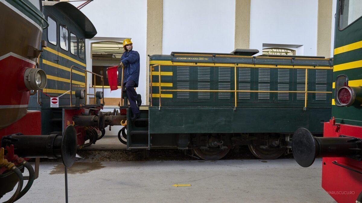 muzeul trenurilor lecce fata tren
