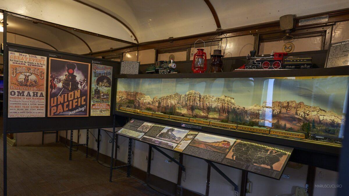 istorie muzeul trenurilor