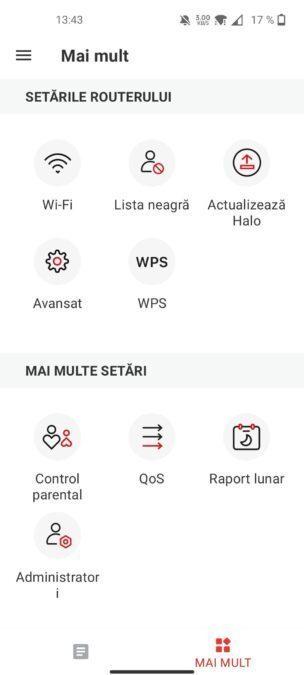 setari aplicatie android