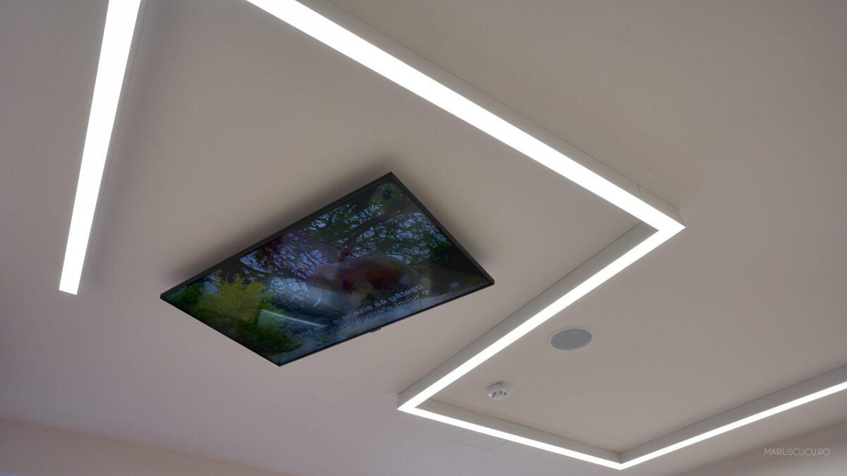 televizor tavan